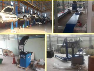 Decar machine installed in Thailand